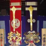祭礼剣鉾飾り