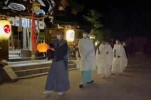 令和3年7月13日 祇園の夜祭 お千度