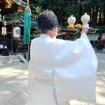 令和3年10月3日 栗御供祭並び秋季湯立祭